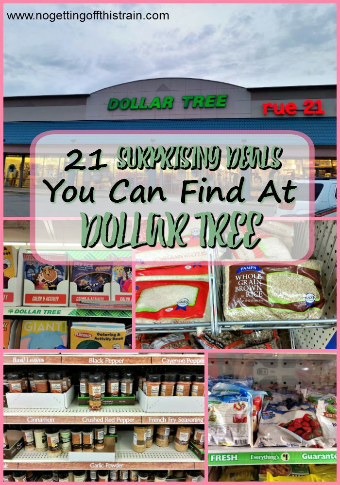 Think you can't get good deals at Dollar Tree? The results may surprise you! Here are 21 great things you can find.