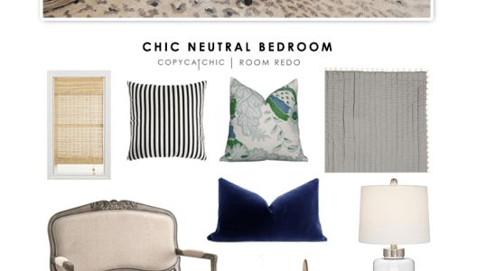 Copy Cat Chic | Chic Neutral Bedroom