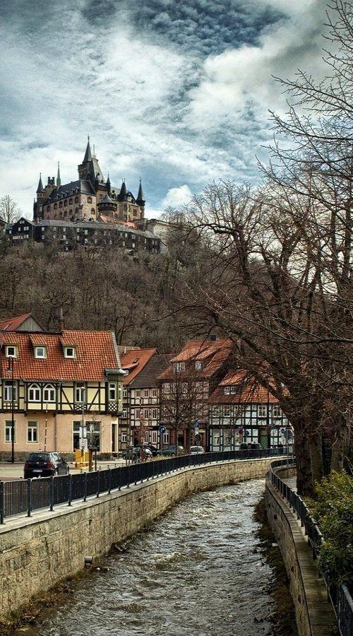 In quaint Wernigerode, Germany.