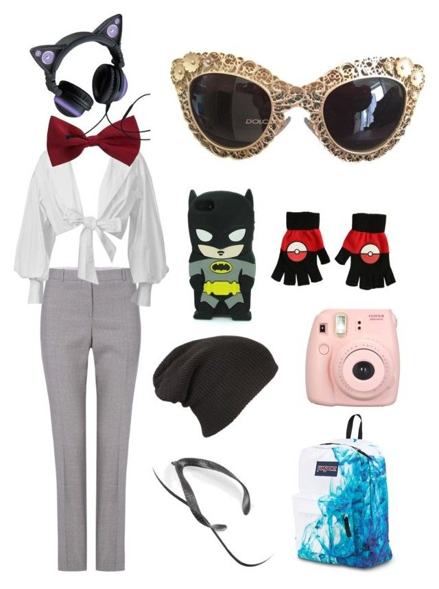 ui by explorer-14660856367 on Polyvore featuring мода, HUGO, Dolce&Gabbana, Fujifilm and New Look