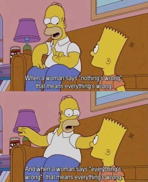 Homer advice.
