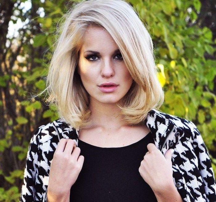 Стрижка каре до плеч - http://popricheskam.ru/124-strizhka-kare-do-plech.html. #прически #стрижки #тренды2017 #мода #волосы