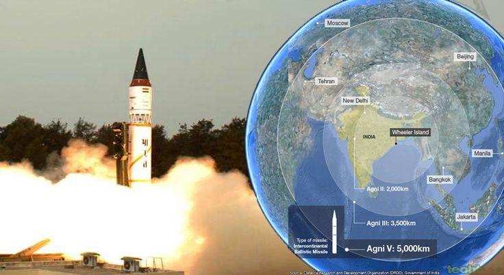 Agni V, India's Most Potent Missile, Successfully Tested in Odisha. Agni 5 has a range of over 5,000 km covering whole of China, from Abdul Kalam island off Odisha coast.  #Hindustan360 #Defence #Agni5 #Ballistic #Missile  Read More http://hindustan360.in/agni-v-indias-most-potent-missile-successfully-tested-in-odisha-hindustan360/