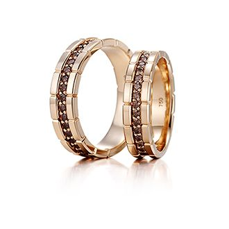 Wedding Ring Bands >> Milanogem collection - taegeuk | Couple Wedding bands | Pinterest | Collection, Ring and Couples