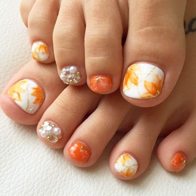 Best 25+ Fall toe nails ideas on Pinterest | Winter nail ...