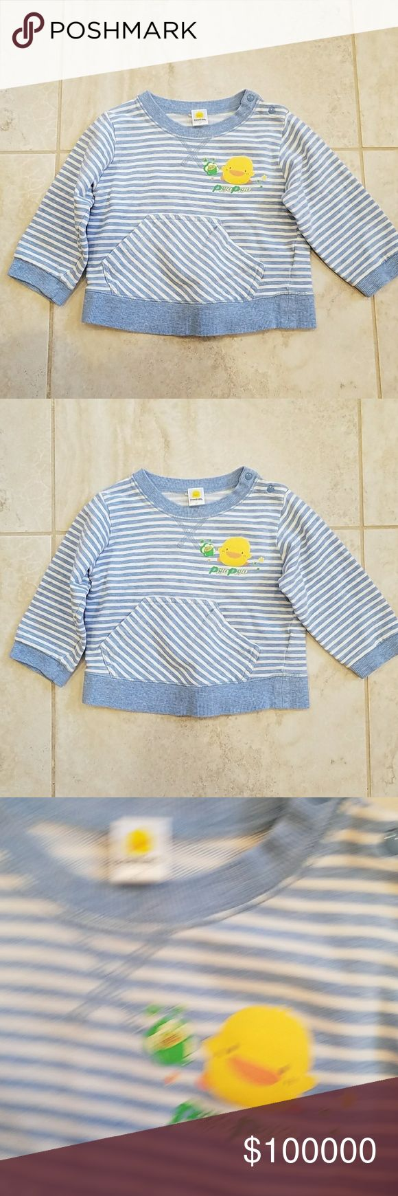 2T PIYO PIYO long sleeve shirt 2T PIYO PIYO long sleeve shirt with thicker material. No stain or rip. It is in an excellent condition. 100% cotton. PIYO PIYO Shirts & Tops Sweatshirts & Hoodies
