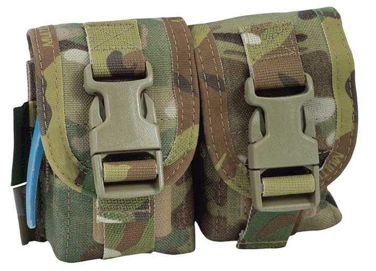 CHK-SHIELD Ausrüstungs Onlineshop | Doppel-Handgranatentasche WARRIOR Elite Ops | Polizei- Militär- und Behördenbedarf