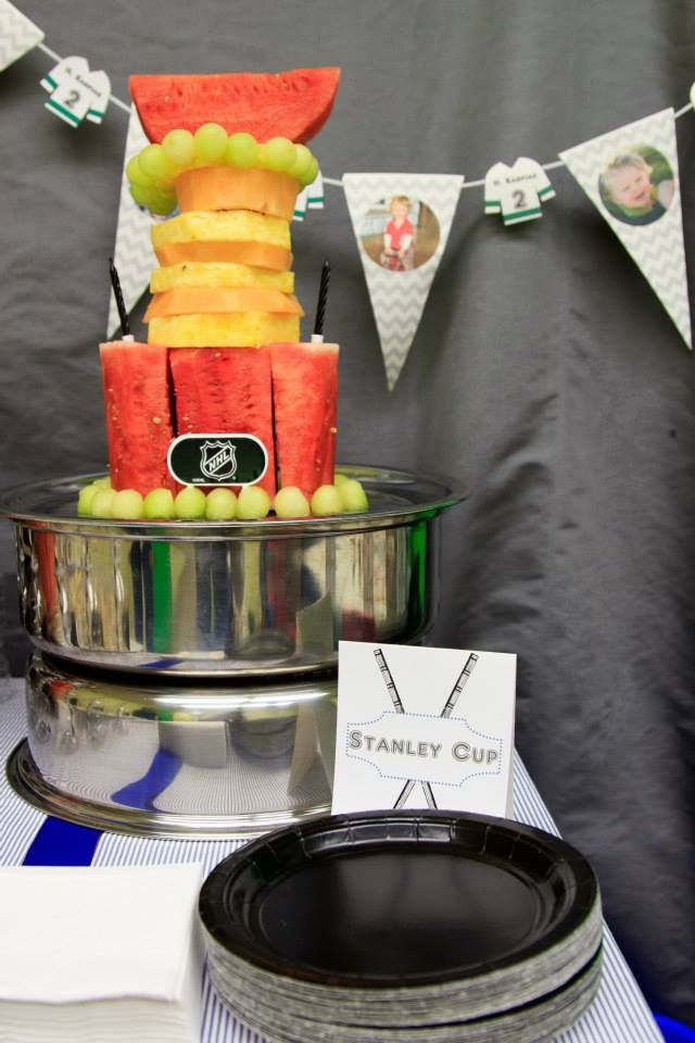 Stanley cup made of fruit