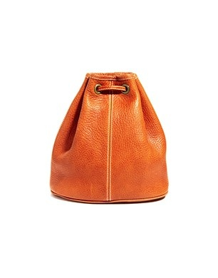 American Apparel Leather Backpack