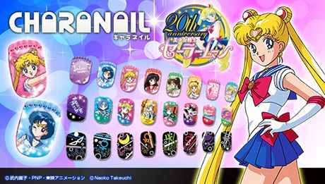 Official Japanese Sailor Moon Nail Art!!
