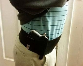 Hi. This is Free Carry USAs original waistband concealed holster. All of our holsters are handmade in the USA one belt at a time by craftsmen who are passionate about what they do. In our opinion our belts are the best value on the market today. Each holster has a Velcro type closure and includes one pouch to hold your favorite firearm and one pouch to hold an extra magazine or other items like your ID, cash, phone, keys, etc. We believe that quality and integrity are of utmost importance…