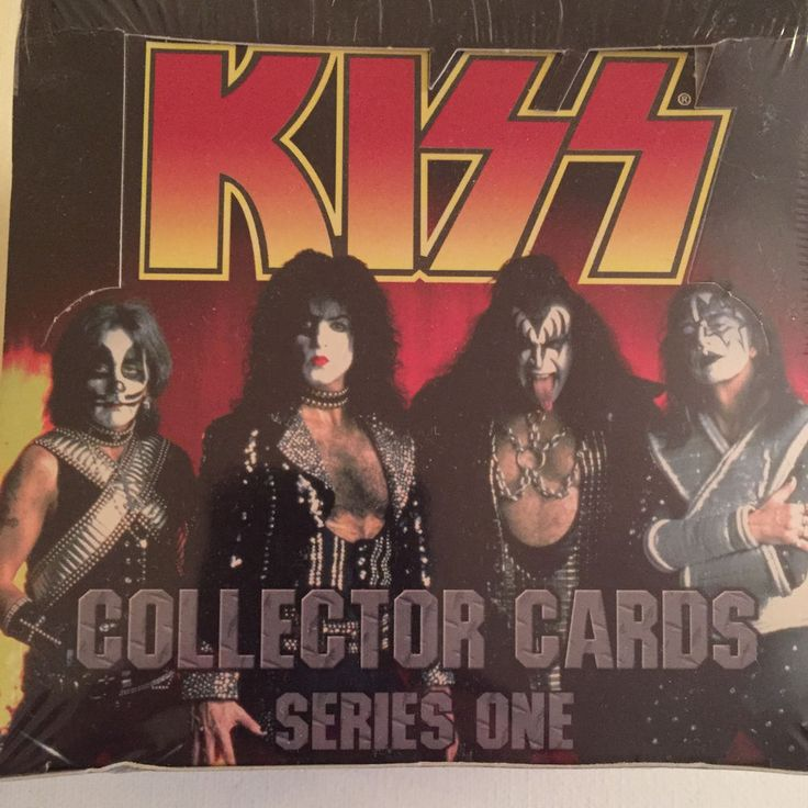 Kiss Collector Cards Series 1 with Full Band on Box - New #Kiss