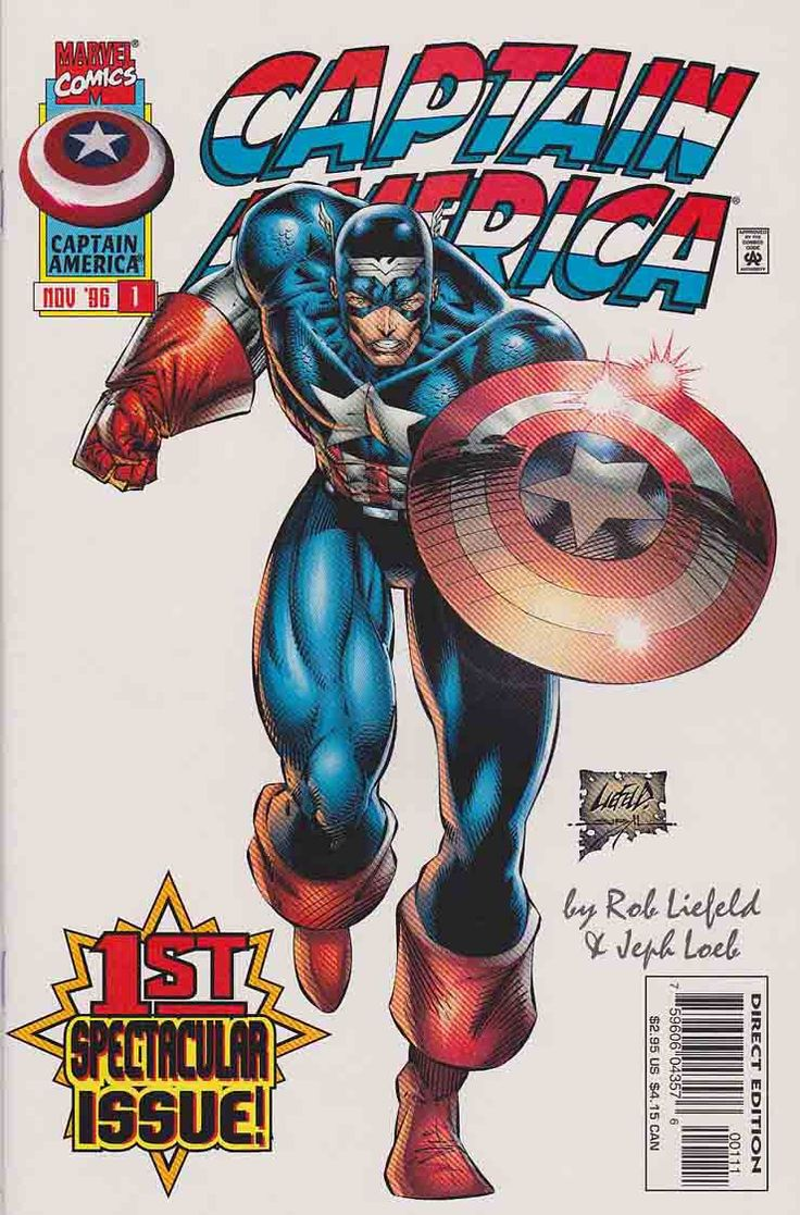 Captain America is superhero that appears in comic books published by Marvel Comics. The character first appeared in Captain America Comics #1 (March 1941), from Marvel Comics' 1940s predecessor, Timely Comics, and was created by Joe Simon and Jack Kirby. ~Respect. Nothing but respect. Cap is the best. I love the original design of Captain America and his story in general.~