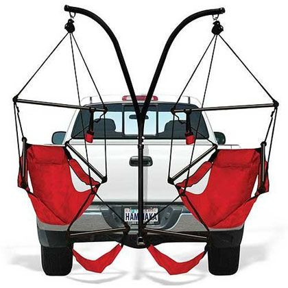 Tailgating hammock, holy effin' crap!