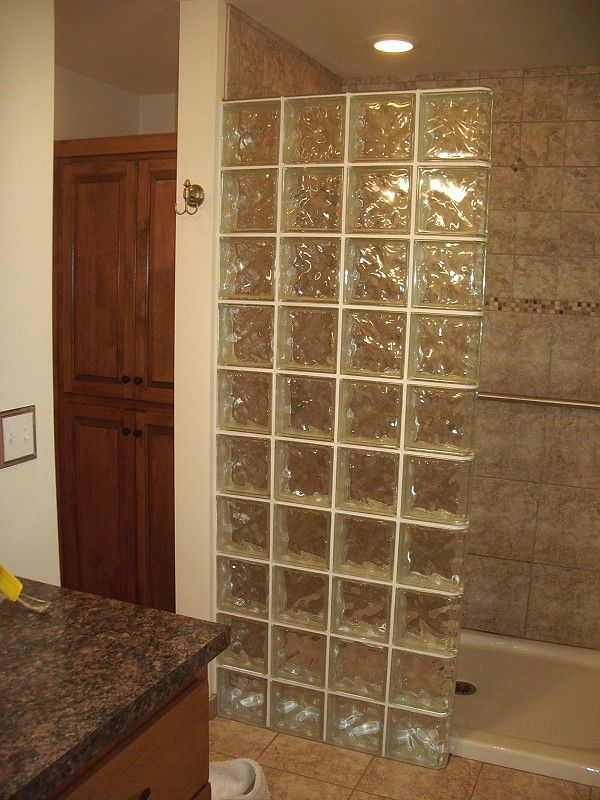 Glass Block Shower Stalls Bing Images Bathroom Pinterest Glass Blocks