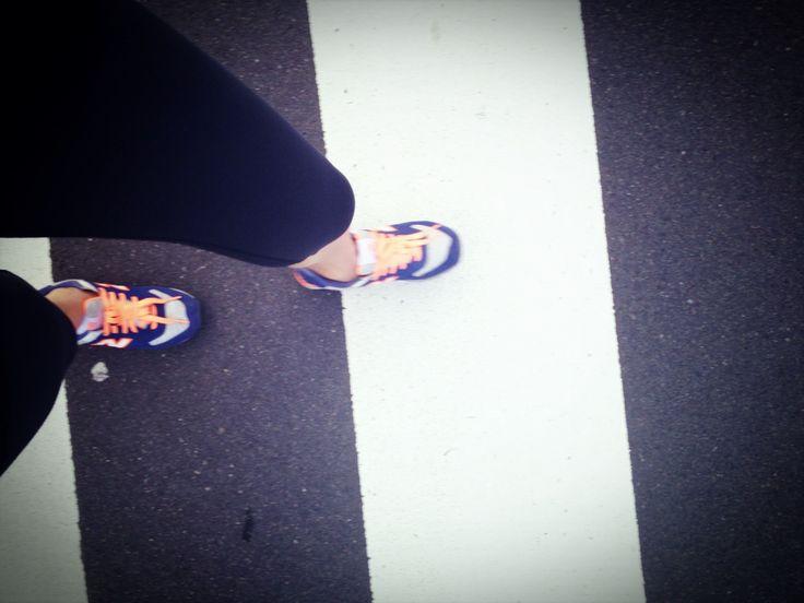 morning jogging around the palace