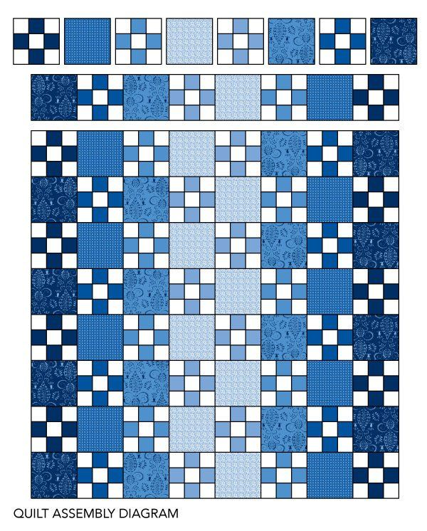 25 best Blue quilts ideas on Pinterest Baby quilt patterns