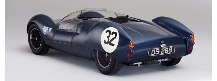 1960 COOPER MONACO-CLIMAX 'MARK II' TYPE 57 REAR-ENGINED SPORTS-RACING PROTOTYPE
