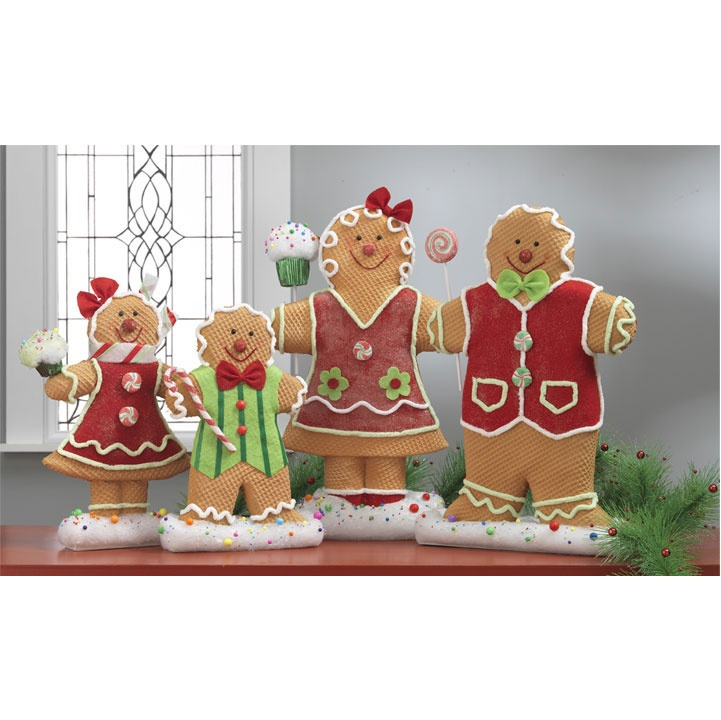 1000 images about ginger bread people on pinterest set for Gingerbread decorations