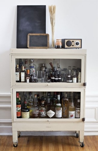 i like this idea for storing alcohol if we canu0027t find an antique bar antique barsmall barsliquor cabinetbar