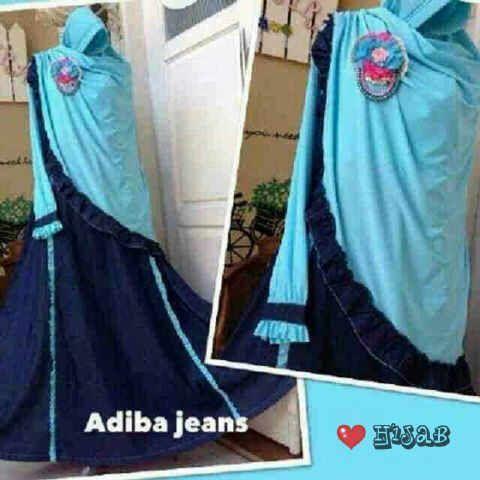 ADIBA baby blue JEANS wash 0RI +spandek sutra BUSUI FRIENDLY (tanpa bros) Harga Seri @Rp 115.000 Harga Ecer@Rp 125.000 Po 2-3 mgg  http://pho.to/7HS5H/7z