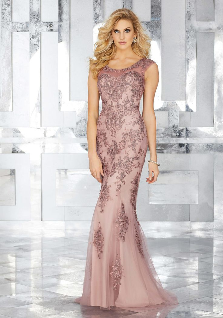Increíble Vestido De Novia De Encaje En Niveles Rivini Galería ...