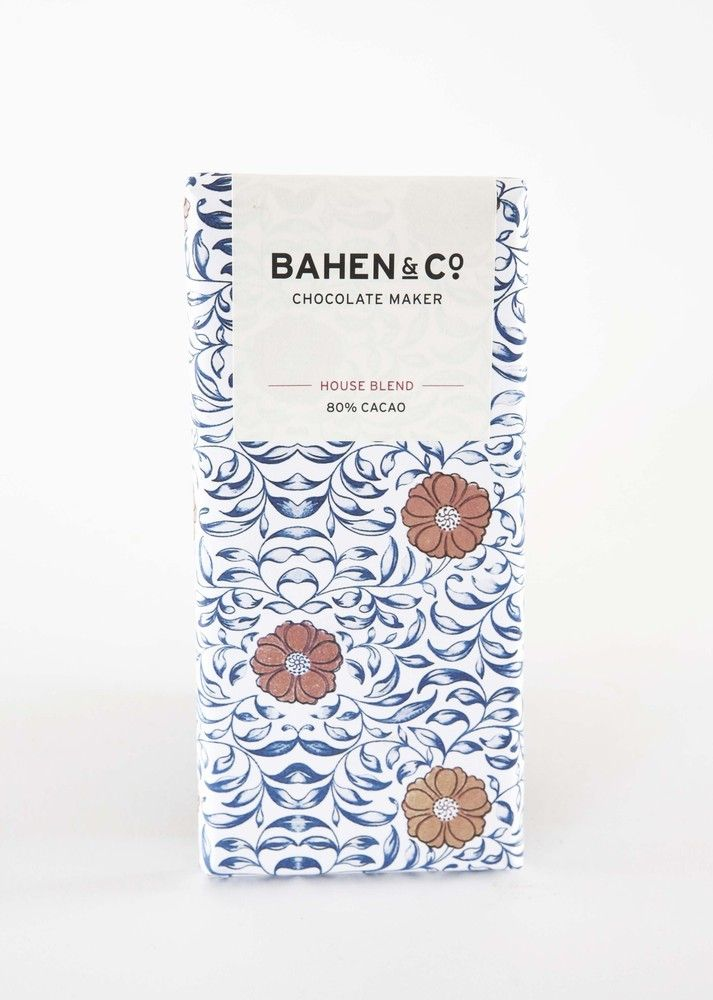 bahen & co. - chocolate packaging