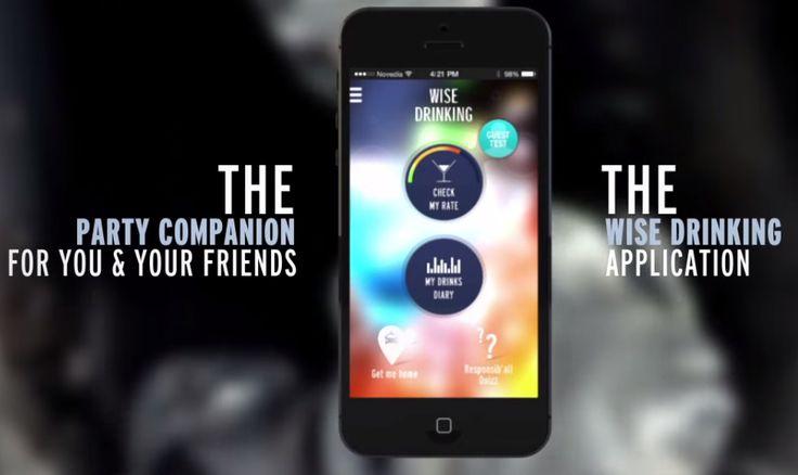 Calculer son taux d'alcoolémie avec une application mobile est dorénavant possible. Attention, cela n'empêche pas de boire avec modération !