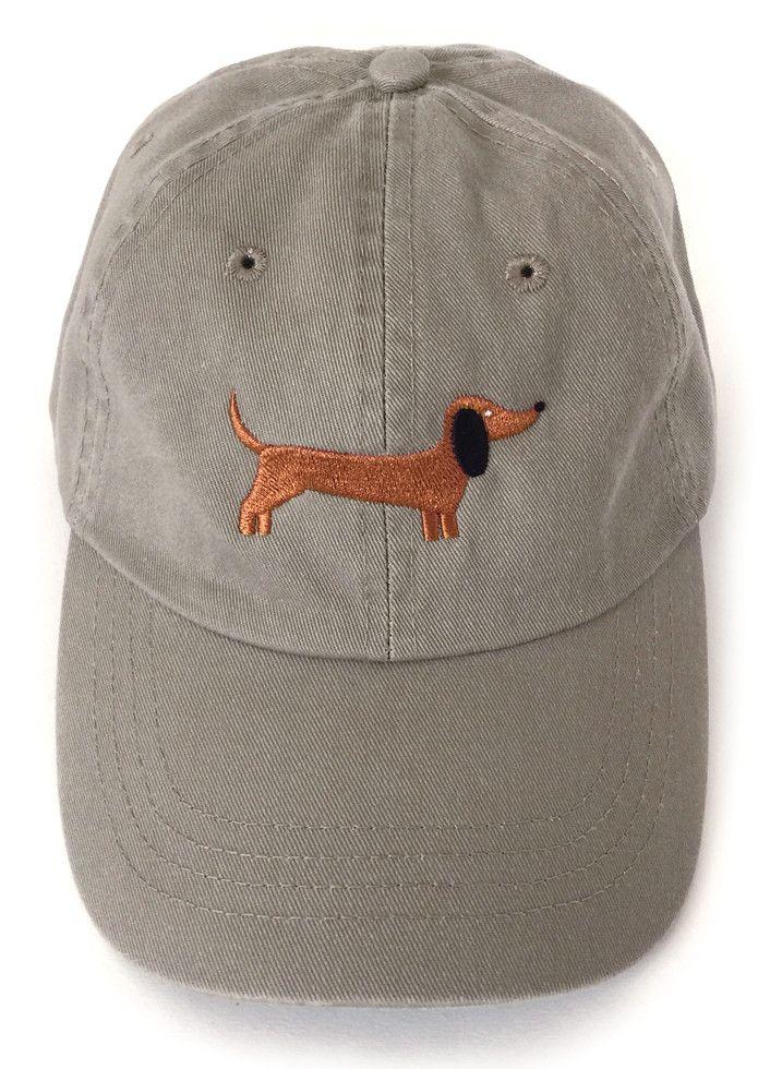 Dachshund Embroidered Baseball Cap