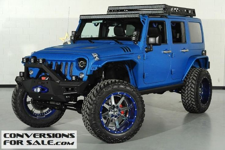 2014 Lifted Jeep Wrangler Unlimited Kevlar Coated SEMA Build