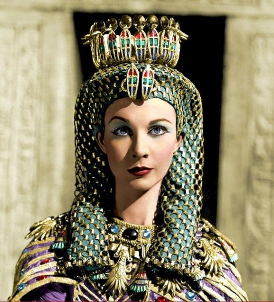 Vivien Leigh in Caesar and Cleopatra.  1945.