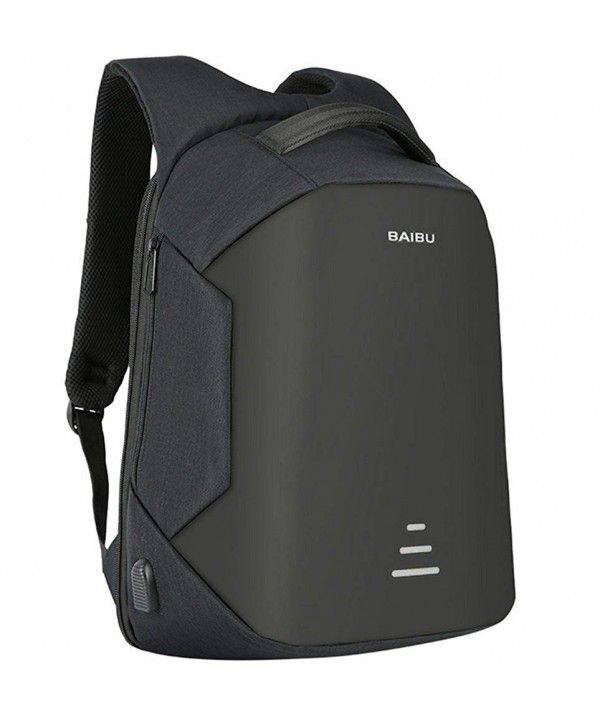 795d86803 Men Business Backpack 16 inch Laptop Backpack with USB Charging Port ...