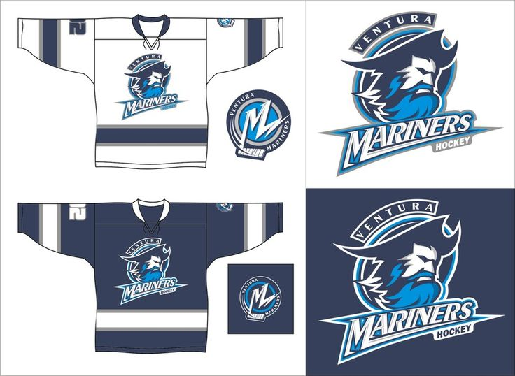 Design the crest for a youth ice hockey club (Ventura Mariners) by…