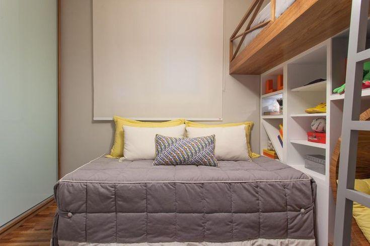 Resultado de imagem para quartos pequenos planejados