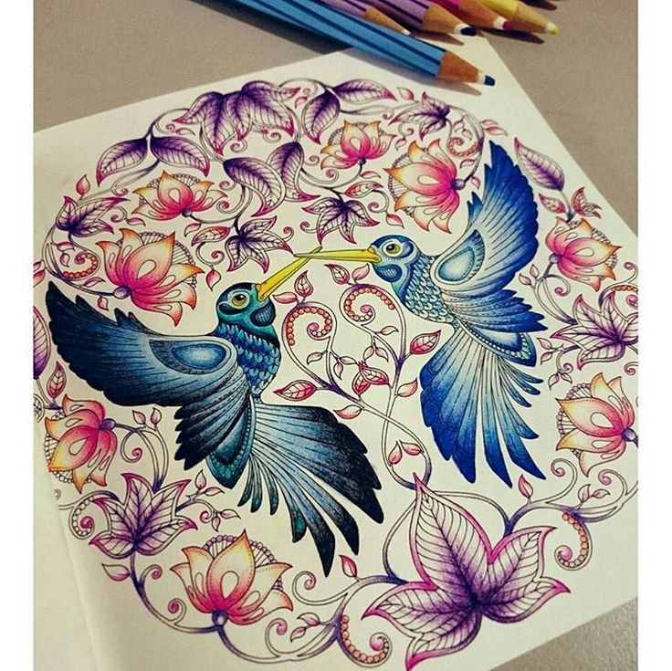 63 best Secret Garden Coloring book ideas images on Pinterest ...