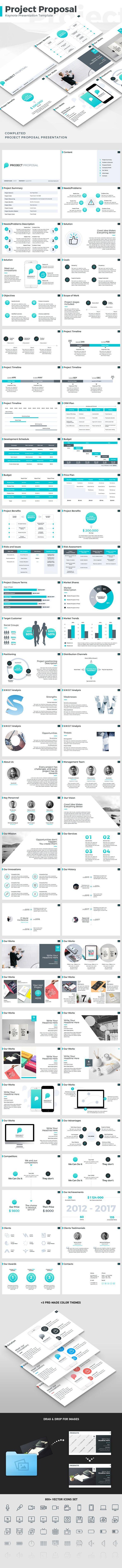 Project Proposal Keynote Design Template - Business Keynote Design Template. Download here: https://graphicriver.net/item/project-proposal-keynote-template/19326205?ref=yinkira
