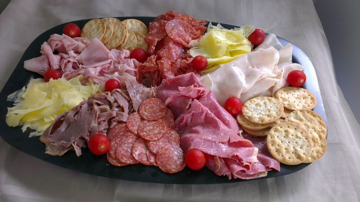 Shaved Meat Platter 6 Different meats  Great for your next Party