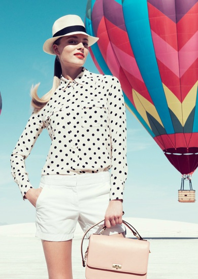 J.Crew January 2013 Lookbook - recd the latest catalog which featured these great photos taken w/hot air balloons. Fun indeed!