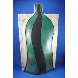 Vaso ceramica raku