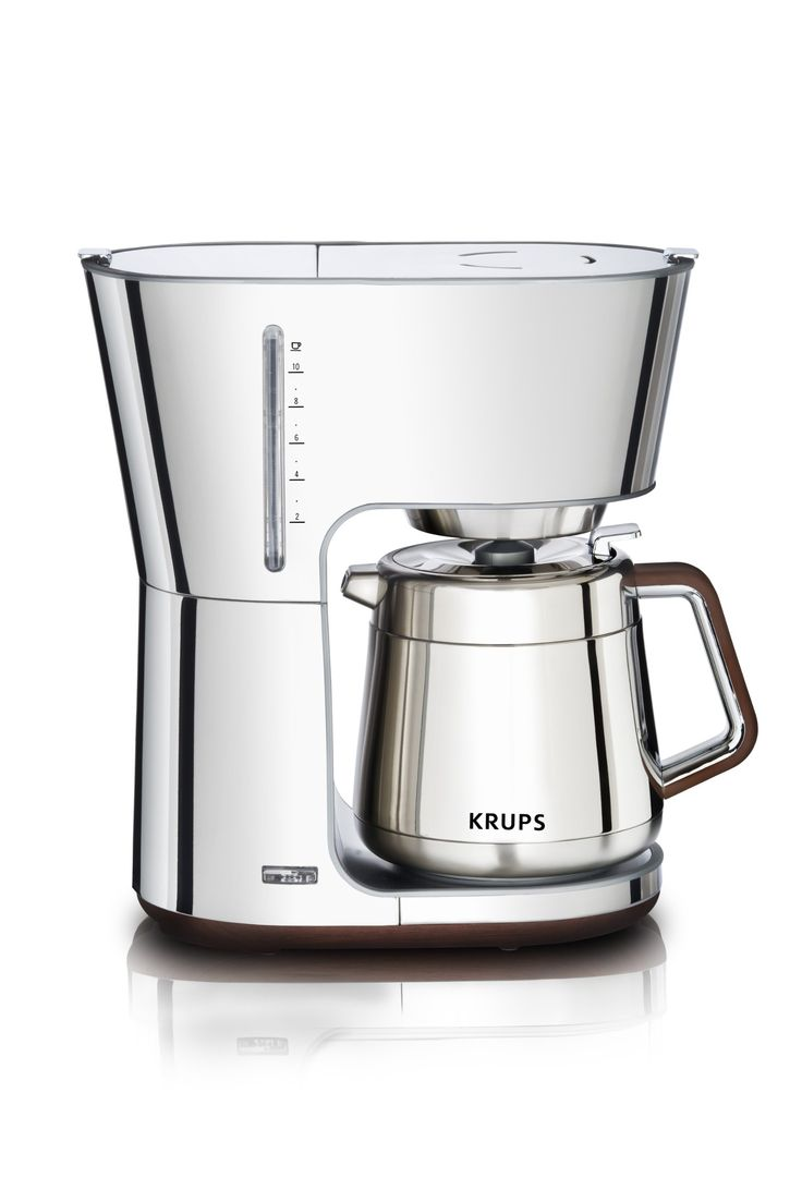 Amazon.com: KRUPS KT600 Silver Art Collection Thermal Carafe Coffee Maker  with Chrome Stainless
