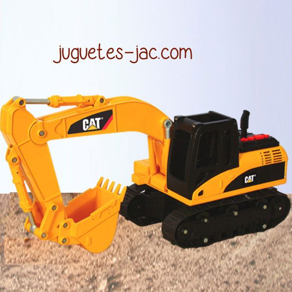 Tractor excavadora con brazo articulado.