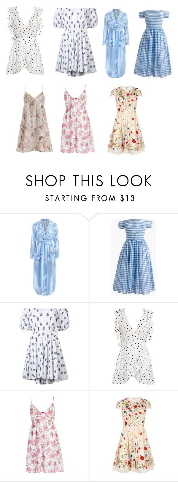 """""""Конец ЛЕТА"""" by princessa-383 ❤ liked on Polyvore featuring J.Crew, Caroline Constas, WithChic, Alice + Olivia, Zimmermann and plus size dresses"""