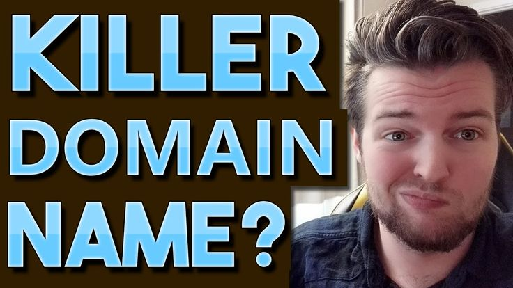 How To Find A Killer Domain Name