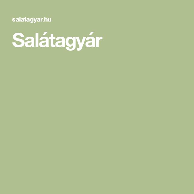 Salátagyár