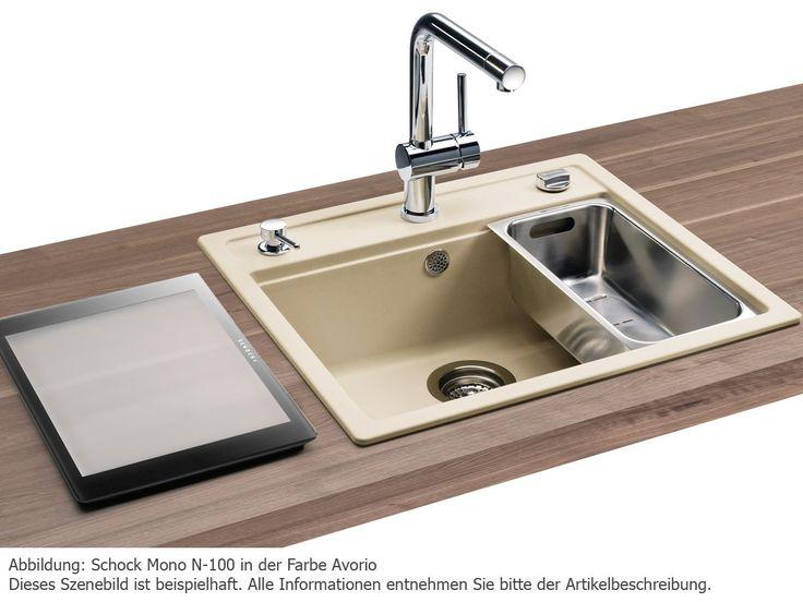 Schock Mono N-100 A Stone Granit-Spüle für 278,90 EUR - shop.moebelplus.de