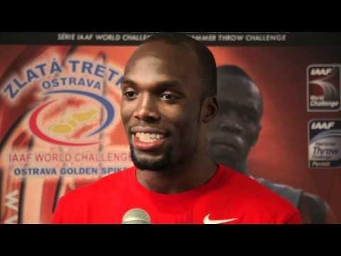 [WATCH] LaShawn Merritt - interview before Ostrava Golden Spike 2012
