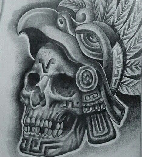 Chicano aztec tattoos pictures to pin on pinterest for Chicano tattoos meanings