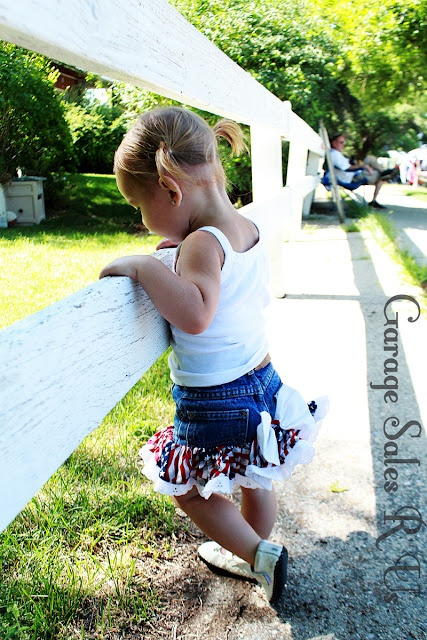 Thrifted outfit! total outfit cost is $3!: Outfit The Skirt, Garage Sales, Kid Stuff, Inspiring Ideas, Clothing Styles