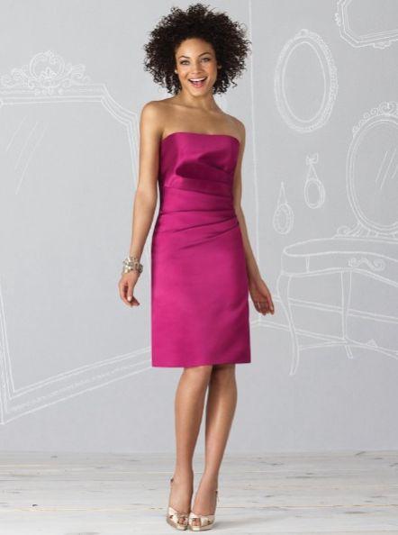 #modecollection #robedecocktail #rdemoiselledhonneur #robedesoiree #fushia #bridemaiddress #pinkdress #bustier   http://www.modecollection.fr/robe-fushia-mango.html