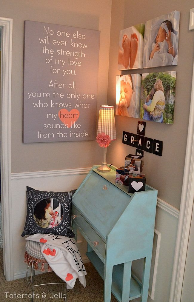 Our home decor Brand Ambassador, TaterTots & Jello, helped tell a beautiful adoption story and create a space that will always feel like home. Click through to read the story and get free printables to use at Shutterfly.